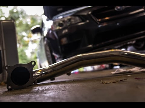 2015 Subaru WRX Invidia Catless J Pipe Downpipe DIY Install