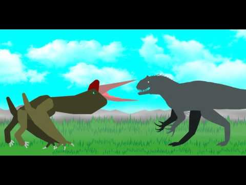 DBA Season 2 Indominus Rex VS Quetzalocatus