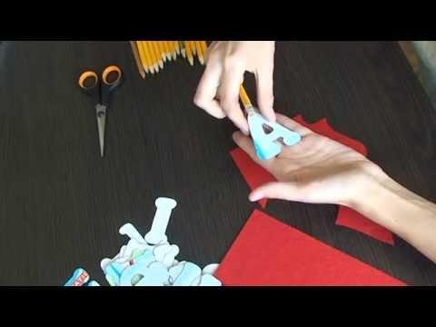 Сшить буквы своими руками схемы шаблоны