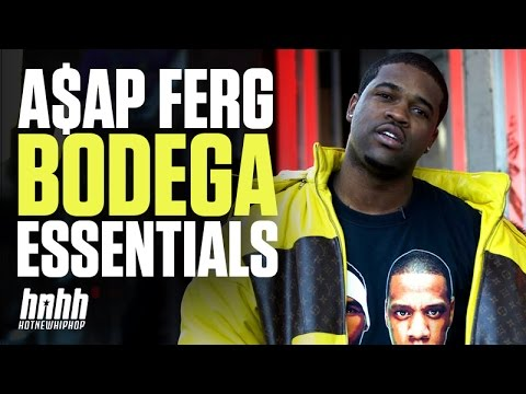 A$AP Ferg Gives Us A Dope Walk Through His Favorite Bodega In Harlem