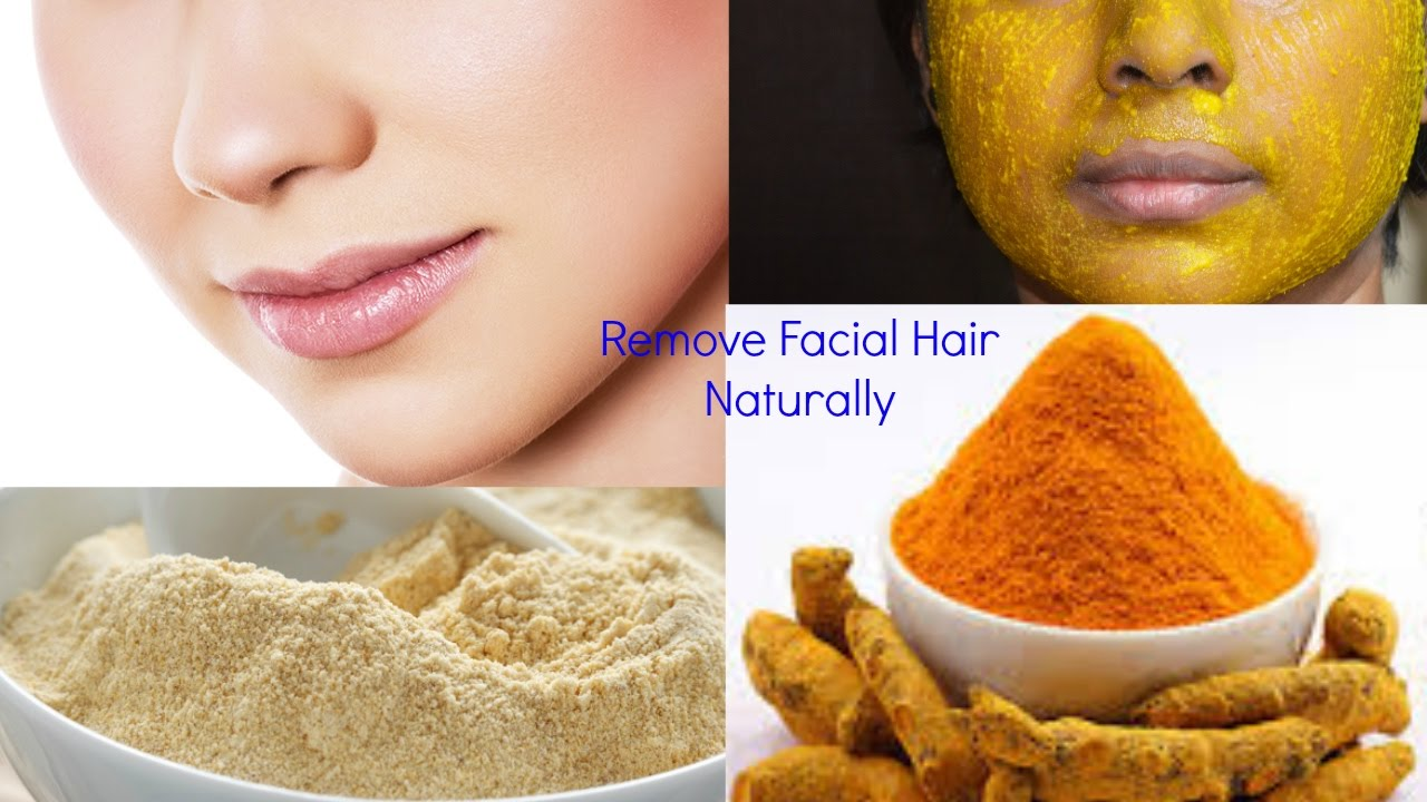How To Remove Facial Hair Permanently At Home Naturally Remove
