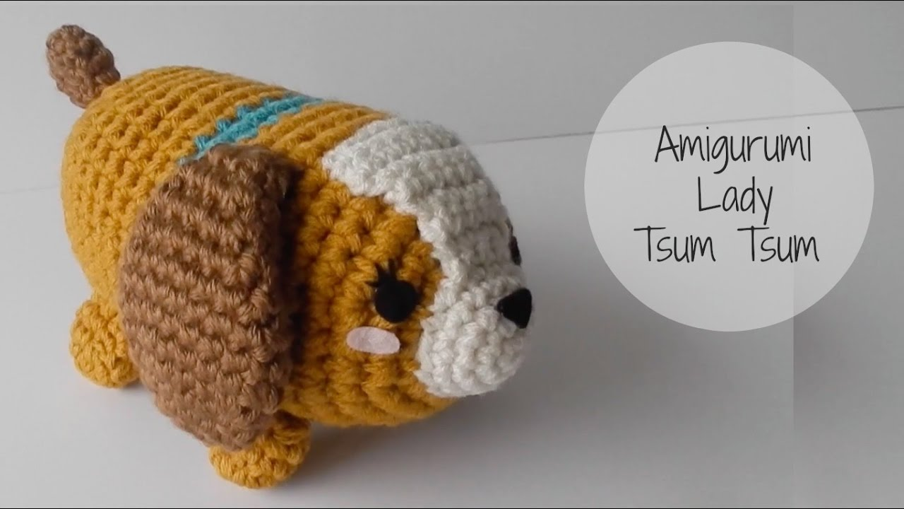 Amigurumi Olaf Tutorial : Amigurumi how to make lady tsum tsum make a paper boat youtube