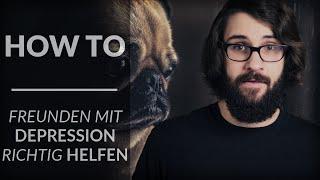 Wie kann ich Freunden mit Depression helfen?   Andre Teilzeit