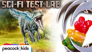 Robotic Raptor Claw DESTROYS Giant Gummy ft Veritasium | SCI-FI TEST LAB presented by Jurassic World