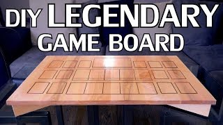 Designing & Cutting A Custom Maple Game Board (Legendary) on X-Carve