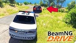 A PERSEGUIÇÃO POLICIAL!!! - BeamNG Drive