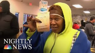 Mega Millions Will Grow To $2 Billion If There Is No Winner Tuesday   NBC Nightly News