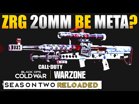How to Unlock ZRG 20MM Sniper in Warzone & How it Fits in Sniper Meta | ZRG Best Class Setup/Loadout - JGOD