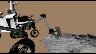 Curiosity Collects First Rock Sample