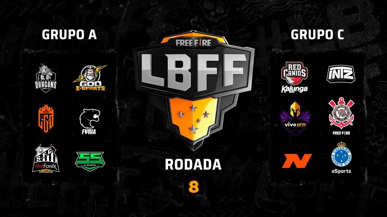 LBFF - Rodada 8 - Grupos A e C | Free Fire