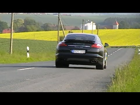 porsche panamera turbo driving and sound hd youtube