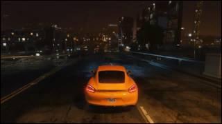 GTA 5 | Porsche Cayman at Night