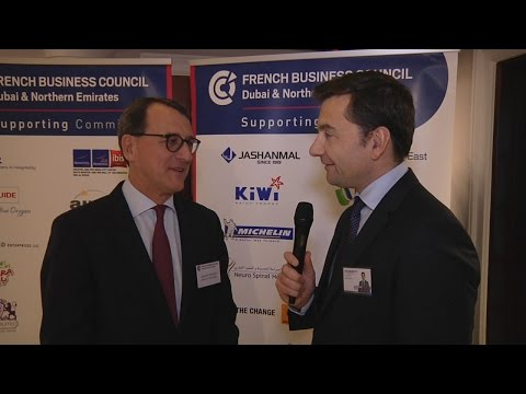 First Arab Civil Code Forum in UAE : Laurent Chaudet, FRENCH BUSINESS COUNCIL