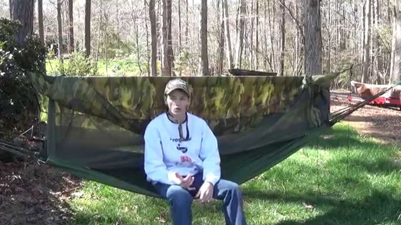 awesome surplus hammock tarp  bo awesome surplus hammock tarp  bo   youtube  rh   youtube
