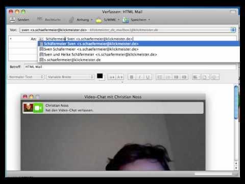 HTML Mails Auf OSX