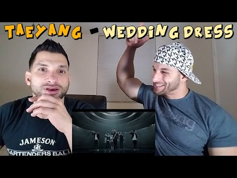 TAEYANG  WEDDING DRESS REACTION