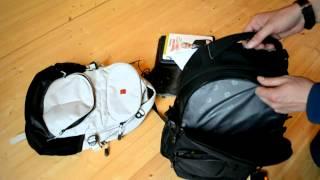 видео Рюкзак Wenger 3263204410 черный/серый с отделением для ноутбука15