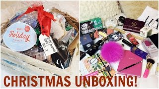 SNS HO HO HOLIDAY HAMPER UNBOXING 2016 #SNSHAMPER