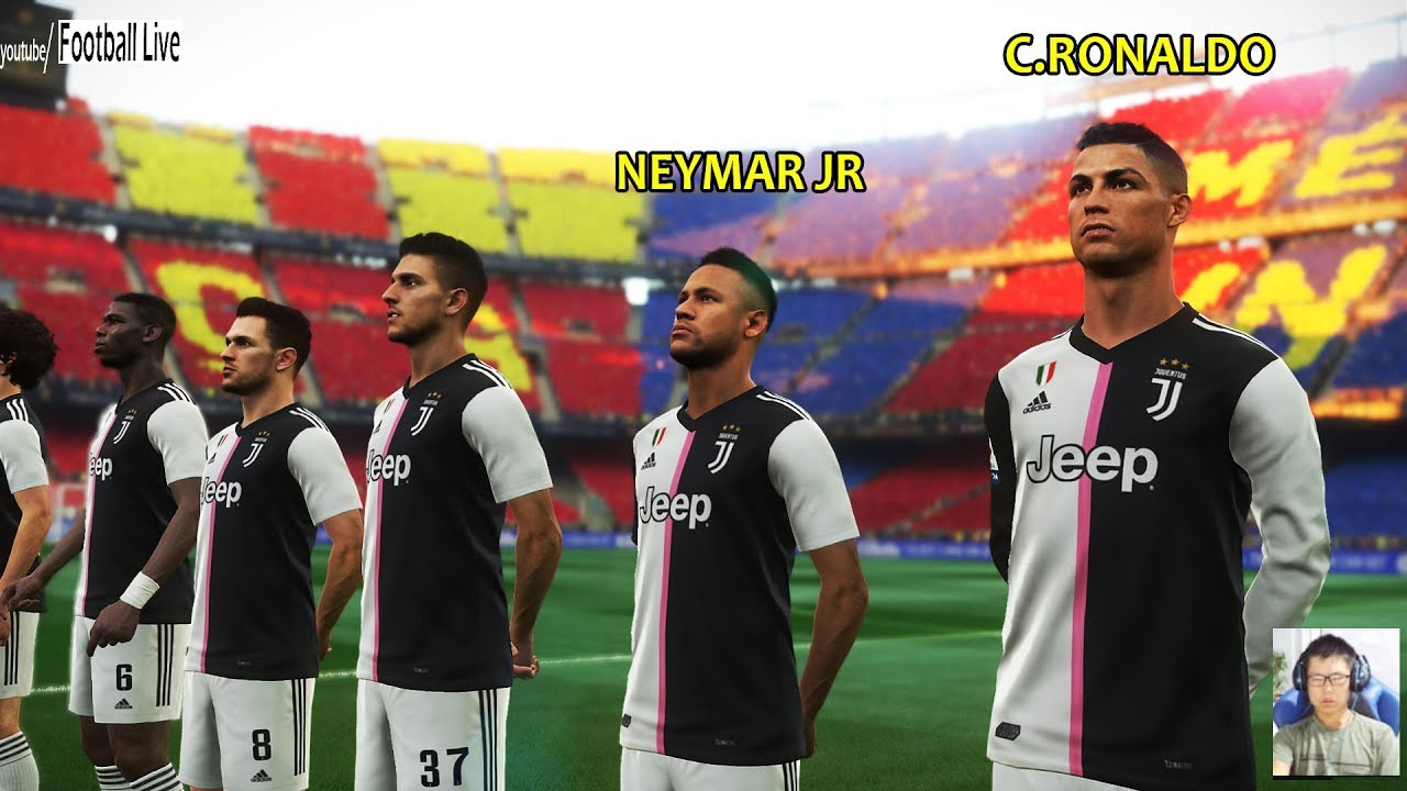 Barcelona vs Juventus | Neymar going to Juventus | PES ...