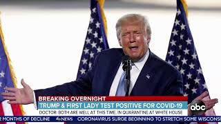 WATCH LIVE: Trump says he and the first lady have tested positive for COVID-19 | ABC News