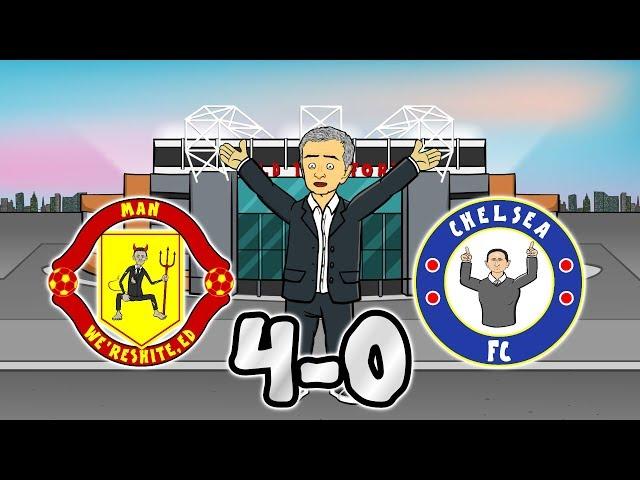 😲4-0! Lampard Sacked?😲 Man Utd vs Chelsea 2019/20 (Parody Goals Highlights Rashford Martial James)