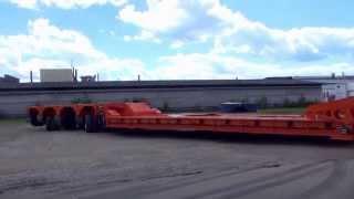 Модульные полуприцепы для Перевозки негабаритных грузов