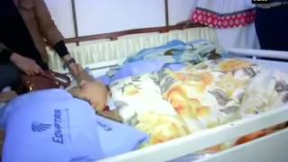 وصول المصرية إيمان عبد العاطى أسمن فتاة في العالم إلى الهند.. فيديو