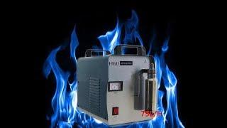 Немного огня. Генератор водорода H160 и горелка с защитой от обратного удара.
