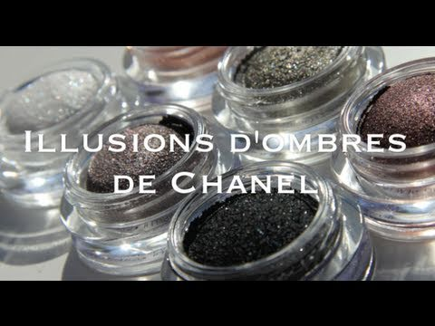Illusions d'ombres de Chanel - swatches & review