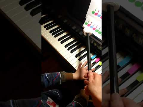 Mary had a Little Lamb with color coded sheet music