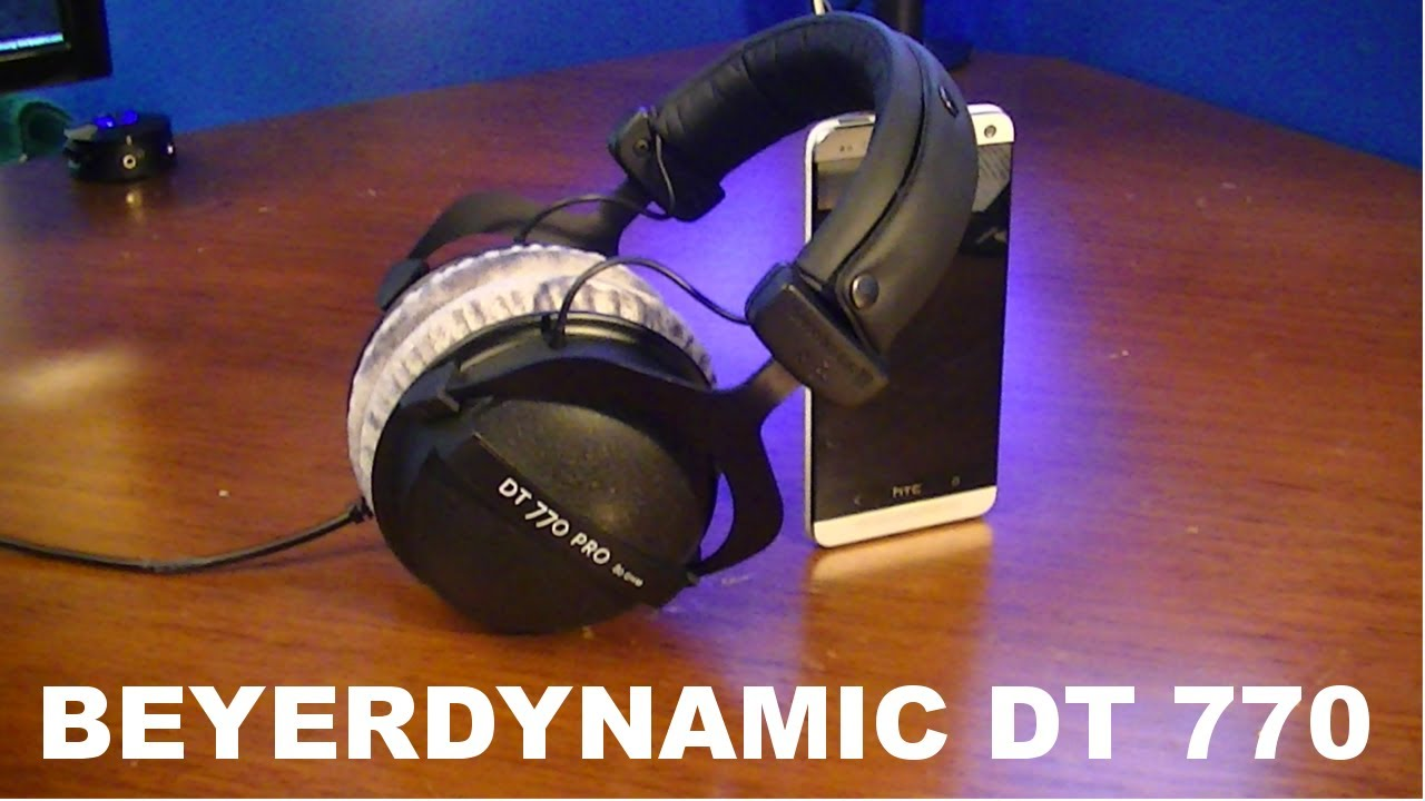 beyerdynamic dt 770 review youtube. Black Bedroom Furniture Sets. Home Design Ideas