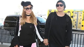 Paris Hilton And Chris Zylka Asked About Engagement Just Days Before Chris Popped The Question