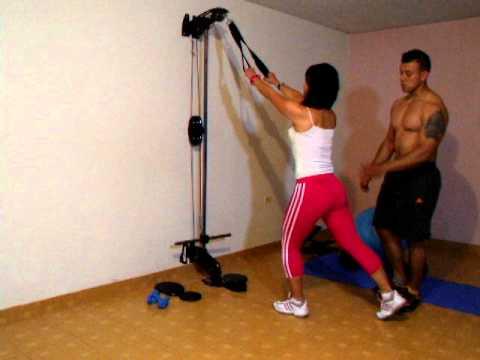 Xs home gym gimnasio casero espalda piernas for Gimnasio casero