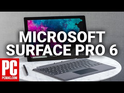 Microsoft Surface Pro 6 Preview