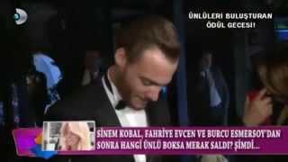 Kerem Bursin & Serenay Sarıkaya, GQ ödülleri Magazin D röportajı!
