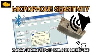 VCDS Microphone Sensitivity Handsfree bluetooth - zmiana czułości mikrofonu VCDS