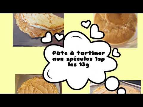 goûter/collation-weight-watchers-recettes-pâte-à-tartiner-aux-spéculos-et-noisettes