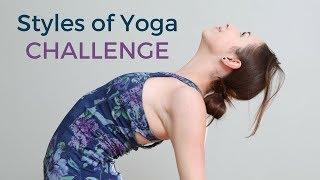 STYLES OF YOGA - June Yoga Challenge & Calendar