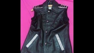 DIY: Modernize Old Leather Jacket