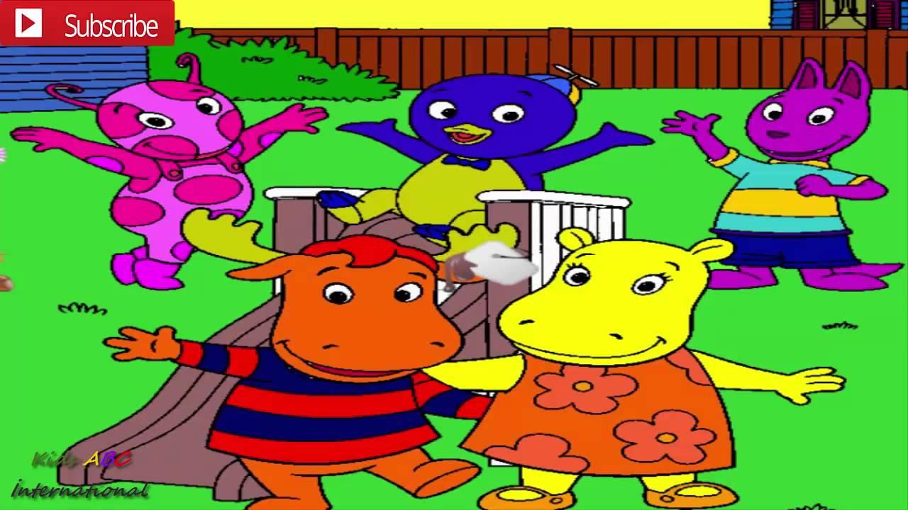 the backyardigans uniqua austin tasha tyrone funny coloring