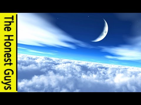 3 HOURS - Flying Through Clouds for Meditation & Relaxation