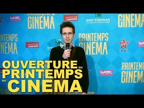 Ouverture du Printemps du Cinéma 2015