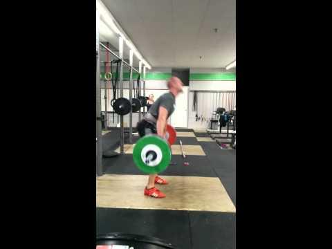 Willie McLendon 141kg Clean