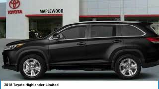 2018 Toyota Highlander Limited Maplewood, St Paul, Minneapolis, Brooklyn Park, MN J14457