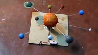 Solar System Working Demonstration Model.AVI