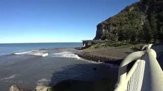 Cycling to Sea cliff Bridge