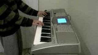 Mouna Ragam Theme Piano & Violin on the Keyboard