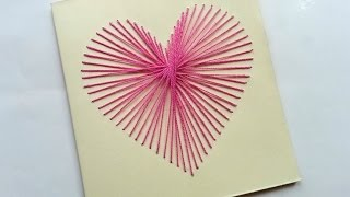 Repeat youtube video How To Create a Beautiful String Art Heart Card - DIY Crafts Tutorial - Guidecentral