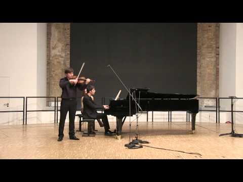 Robert Schumann - Märchenlieder 1-st mov., op.113 - Kirill Semenovykh & Mark Taratushkin