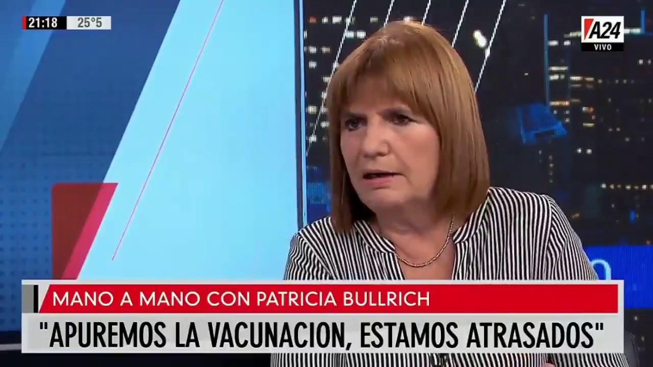 Patricia Bullrich pidió que se permita la compra privada de vacunas contra el COVID-19